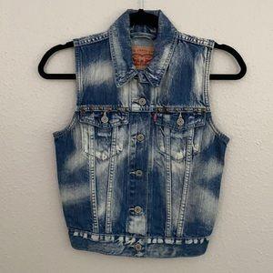 Levi's metal stud vest